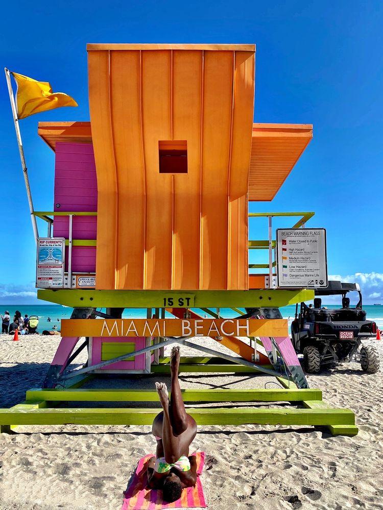 Lummus Park on South Beach