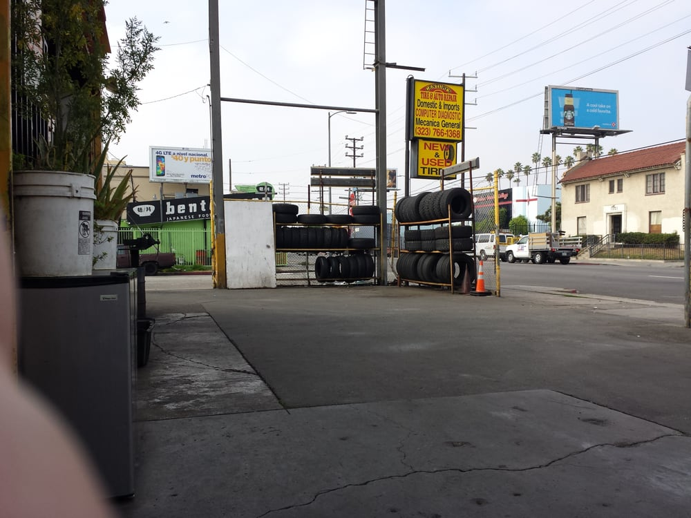 Century's Tires & Auto Repair: 1422 S Western Ave, Los Angeles, CA