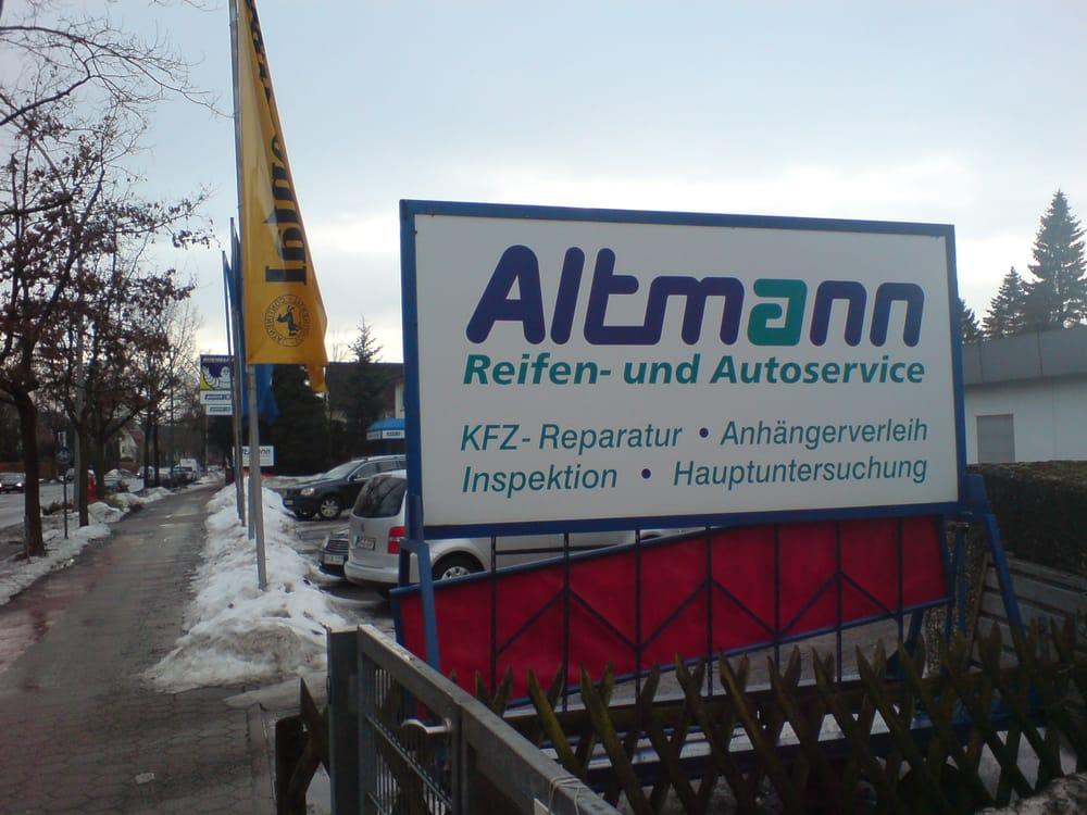 Altmann Reifen & Autoservice - Autowerkstatt - Saseler Chaussee 121 ...