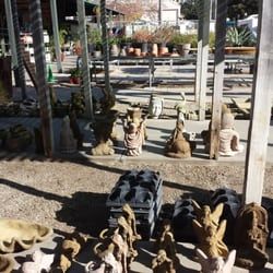 Photo Of Modern Oasis Garden Patio Ventura Ca United States Statues