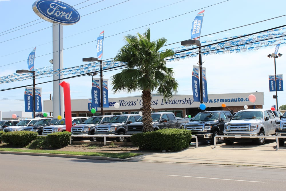 Sames Ford - Car Dealers - 6001 San Dario Ave, Laredo, TX - Phone Number - Yelp