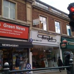 Scruples coiffeurs salons de coiffure 338 green for A salon palmers green