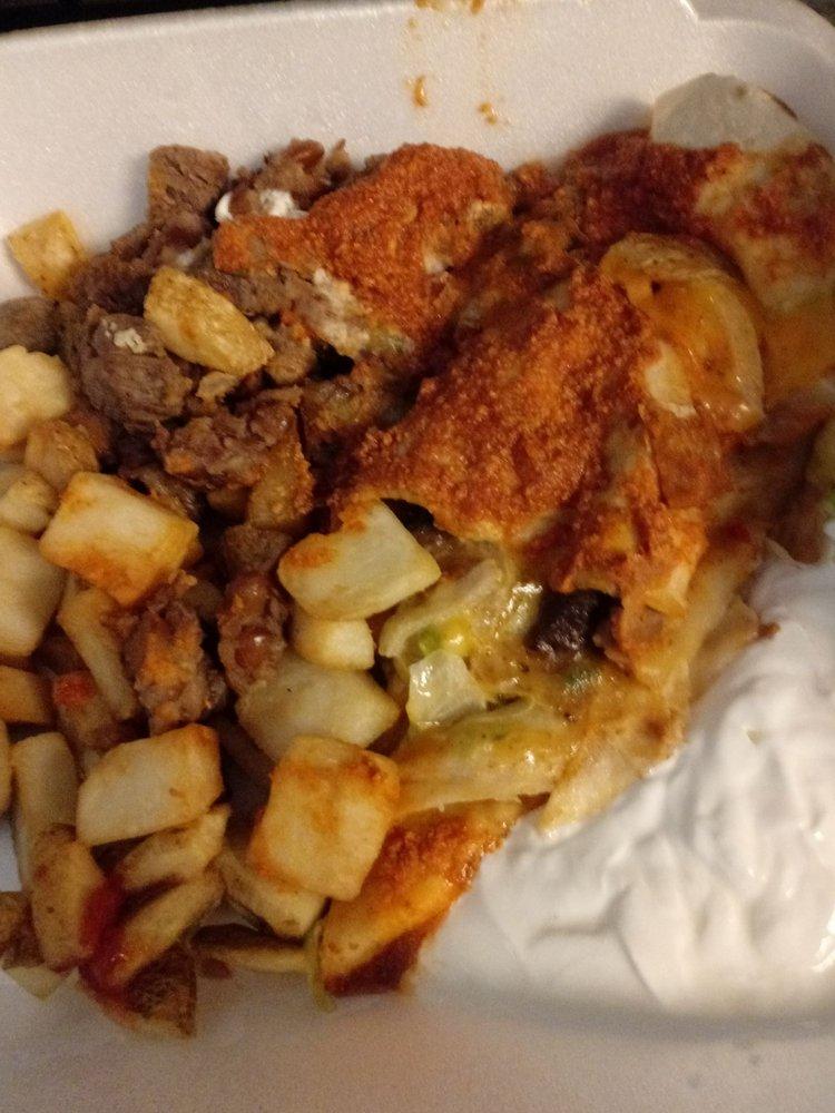 Food from La Casita Salina
