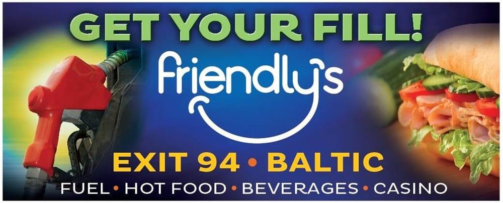 Friendlys Fuel Stop: 47155 250th St, Baltic, SD