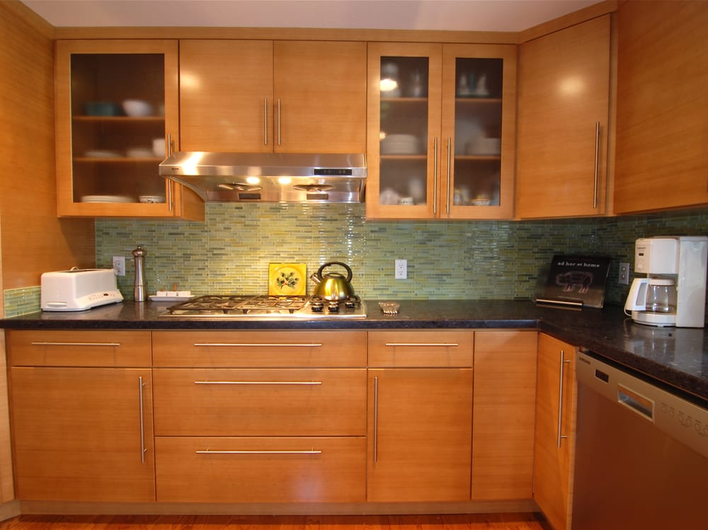 All horizontal grain bamboo yelp for Quality kitchens