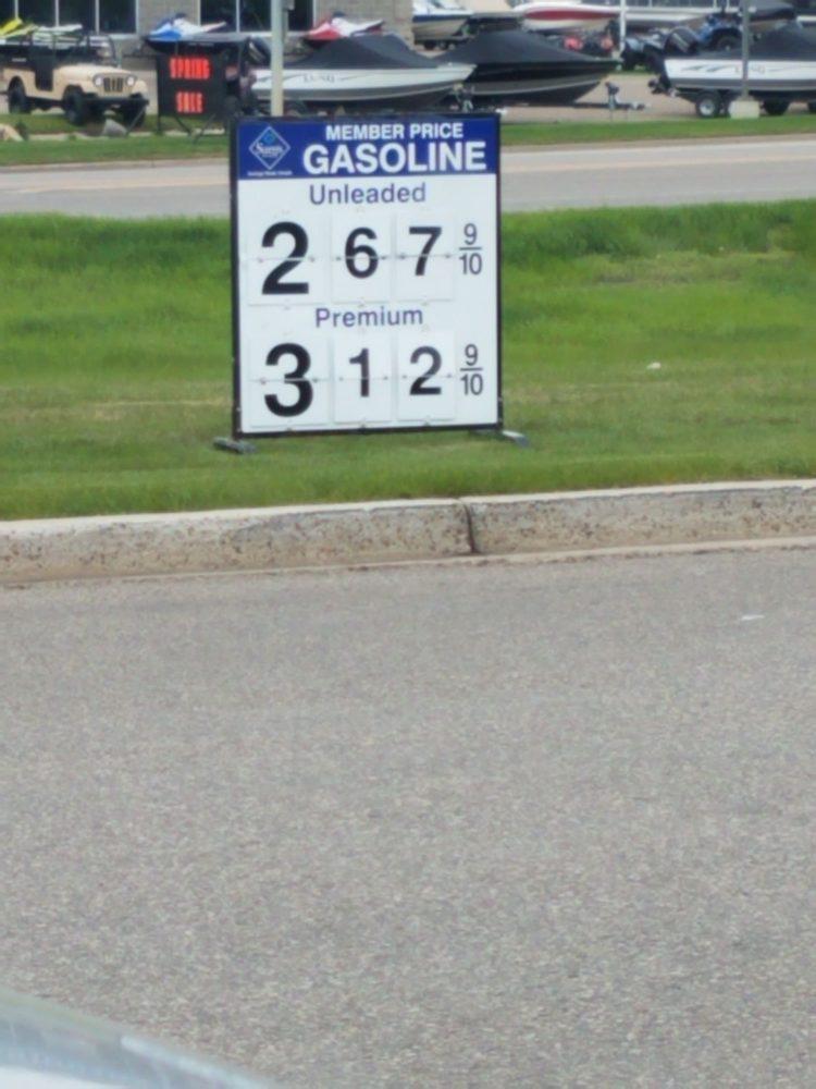 Sam's Club Gas: 2821 Rock Island Pl, Bismarck, ND