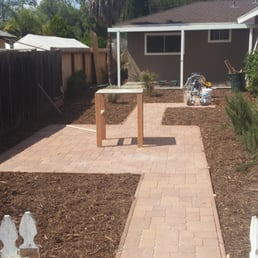 Photo Of Naturescape Services   San Diego, CA, United States. Installed  Paver Stone