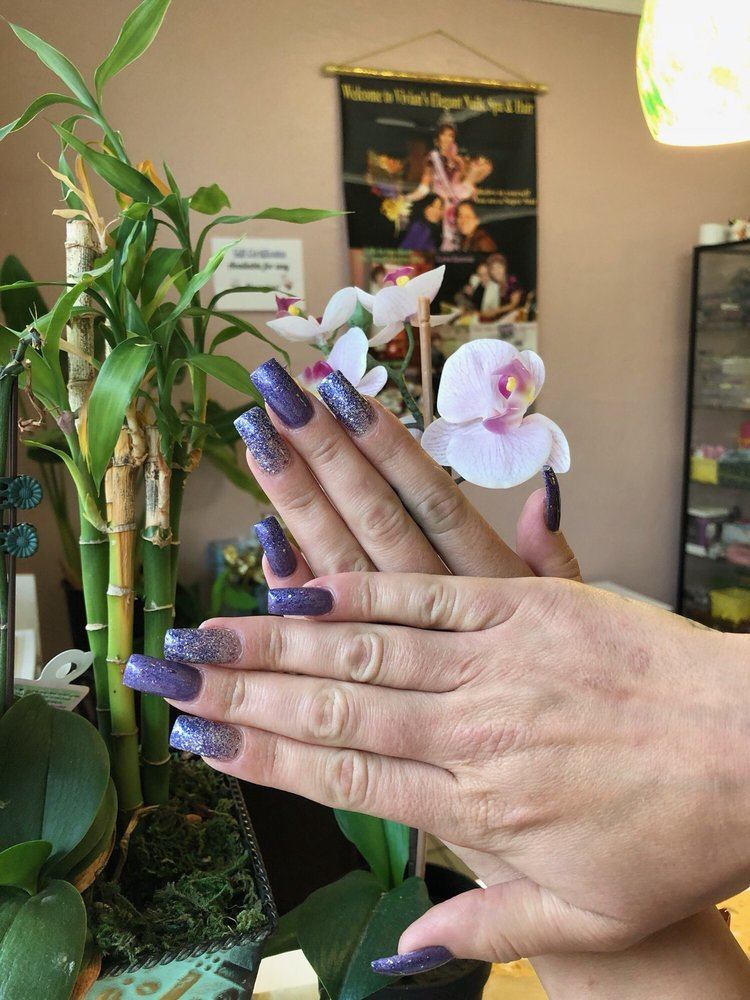 Vivian's Elegant Nails Spa & Hair: 2298 E 14th St, San Leandro, CA