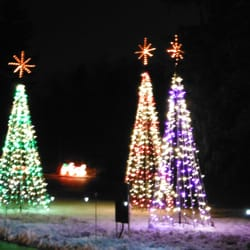 photo of bright nights at forest park springfield ma united states