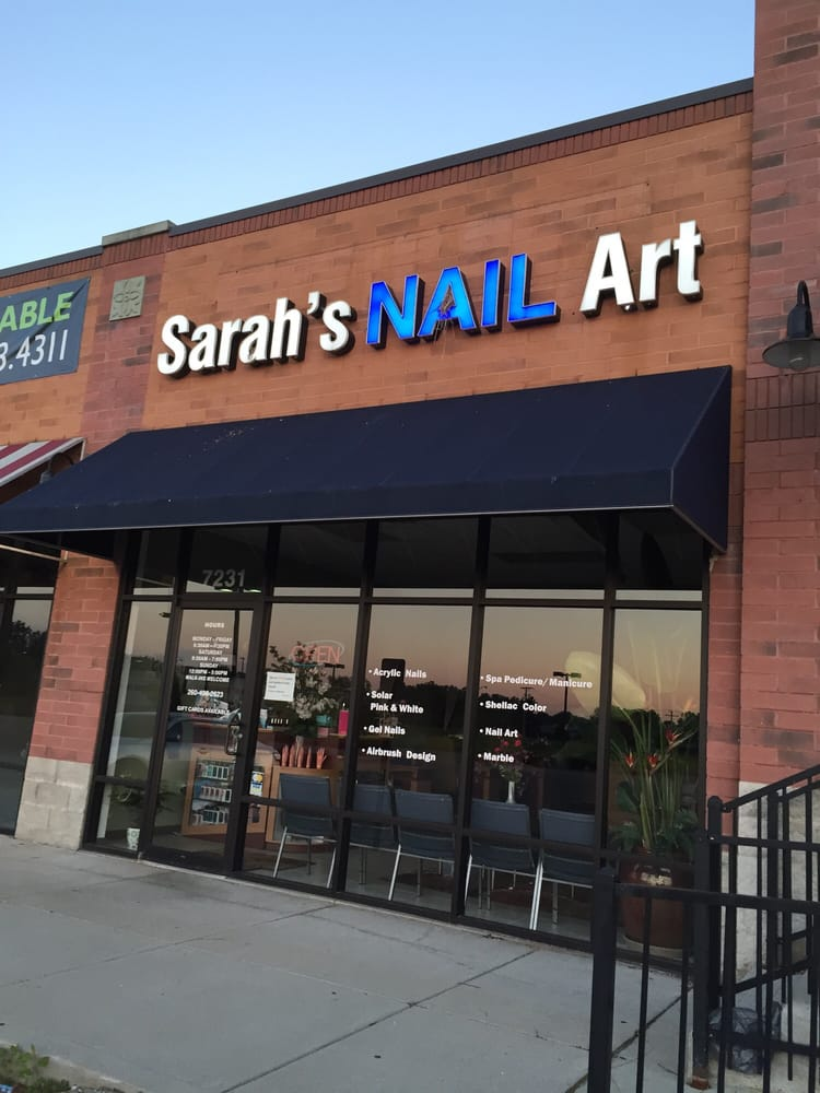 sarah s nail salon nail salons 7231 maplecrest rd