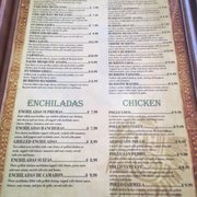 Lupe Mexican Restaurant Menu Cullman Al