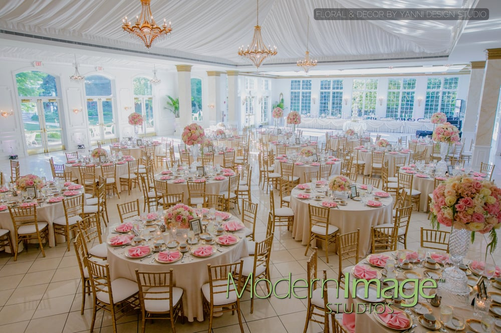 A Beautiful Wedding Reception At The Patrick Haley Mansion Ballroom