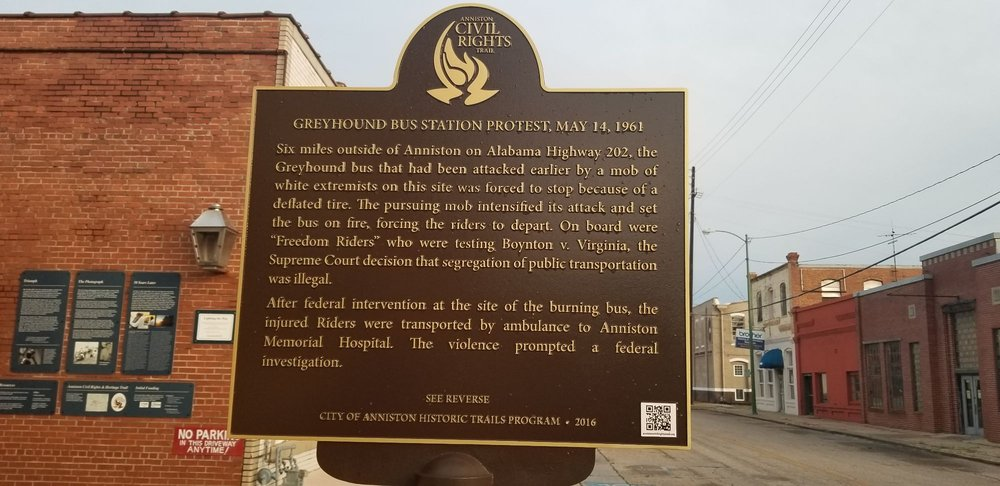 Freedom Riders National Monument: 1031 Gurnee Ave, Anniston, AL