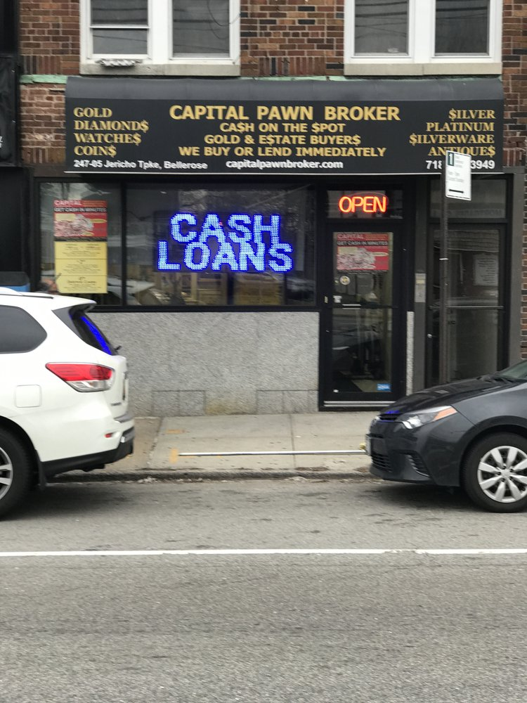 Capital Pawn Brokers, Gold & Estate Buyers: 24705 Jericho Tpke, Bellerose, NY