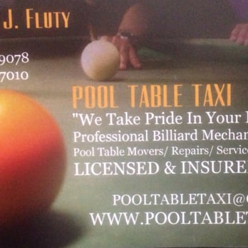 Pool Table Taxi Photos Reviews Movers Midtown - Sell your pool table