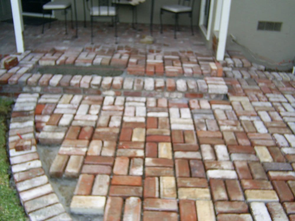 Used Brick In Basket Weave Pattern Yelp