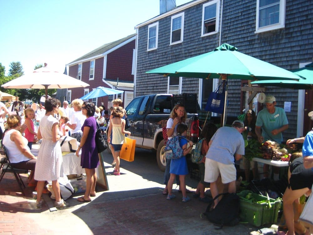 The Sustainable Nantucket Farmers and Artisans Market: N Union St & Cambridge St, Nantucket, MA