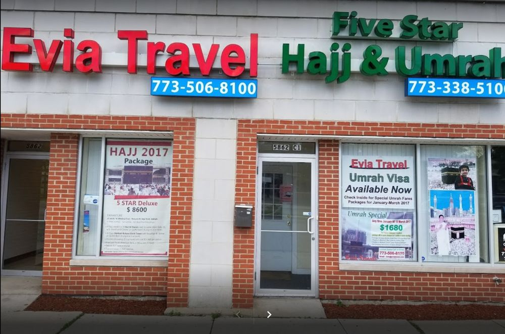 Evia Travel: 5862 N Lincoln Ave, Chicago, IL