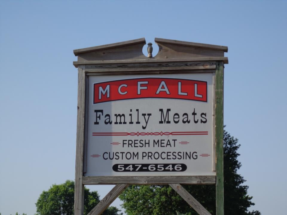 McFall Family Meats: 1414 20th St, Tell City, IN