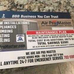 Air Pro Master - 121 Photos & 219 Reviews - Heating & Air