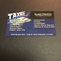 Rv tax services tax services 10754 burbank blvd north hollywood photo of rv tax services north hollywood ca united states business card reheart Image collections