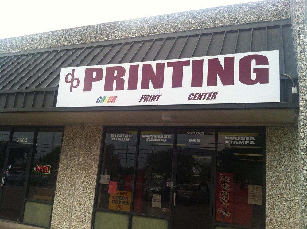 Deer Park Printing: 2602 Center St, Deer Park, TX