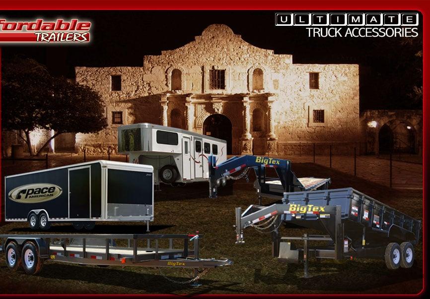 Affordable Trailers: 8989 E US Hwy 87, San Antonio, TX