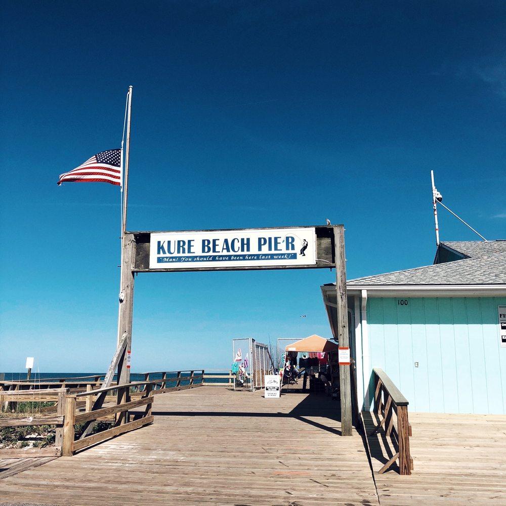Kure Beach Fishing Pier: Kure Beach, NC