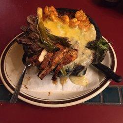 Photo Of Puerto Vallarta Restaurant Eatonville Wa United States Molcajete Plate Served
