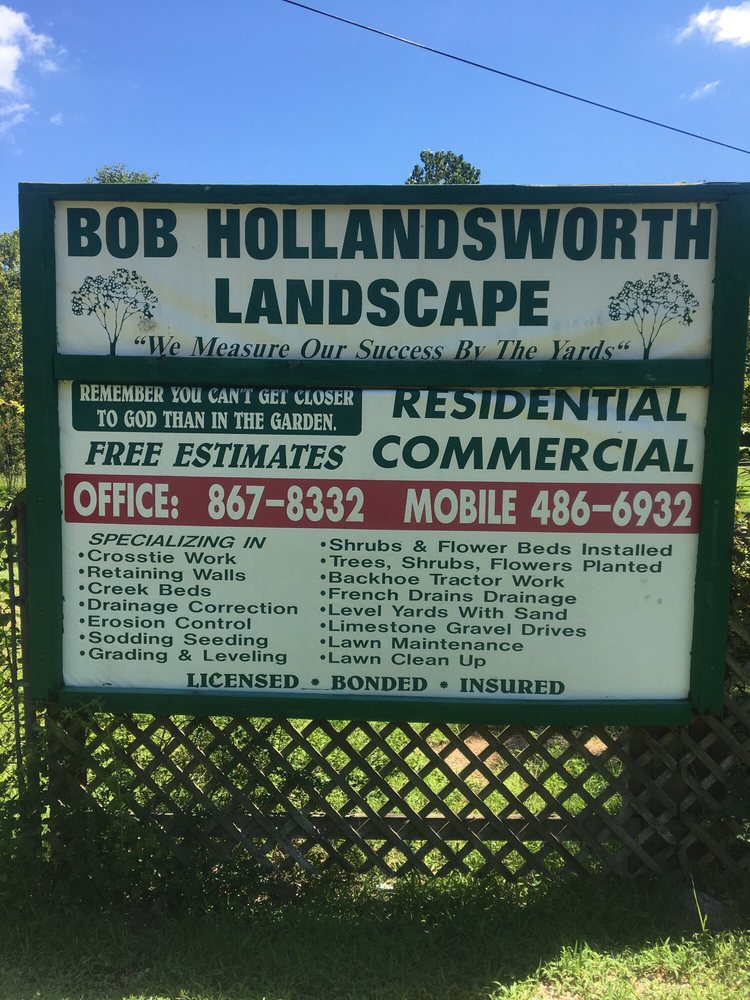 Bob Hollandsworth Landscaping And Drainage: 10 Hollingsworth Way, Arlington, TN