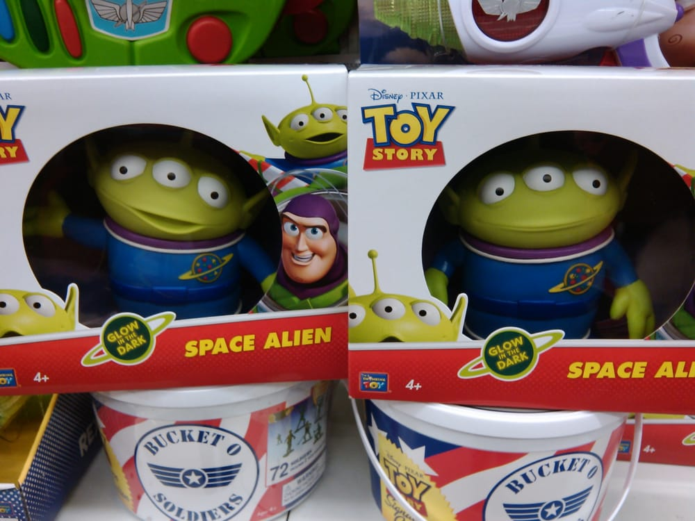 Toy Story Aliens Bucket Of Army Men Yelp