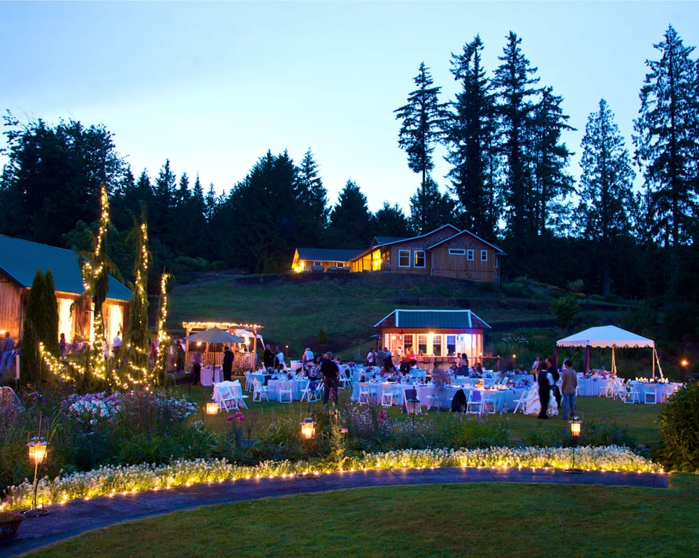 Photo Of Twin Willow Gardens   Snohomish, WA, United States. Twinkle Lights.
