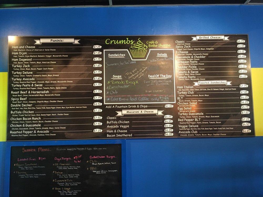Crumbs Cafe & Bake Shoppe: 257 Main St, Calais, ME