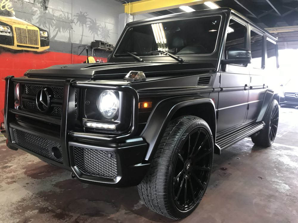 new product 03b80 8a5bb G-Wagon wrapped in matte black for Lonzo Ball - Yelp