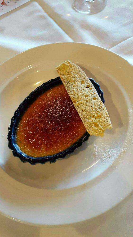 Creme brulee yelp for Passion fish reston va