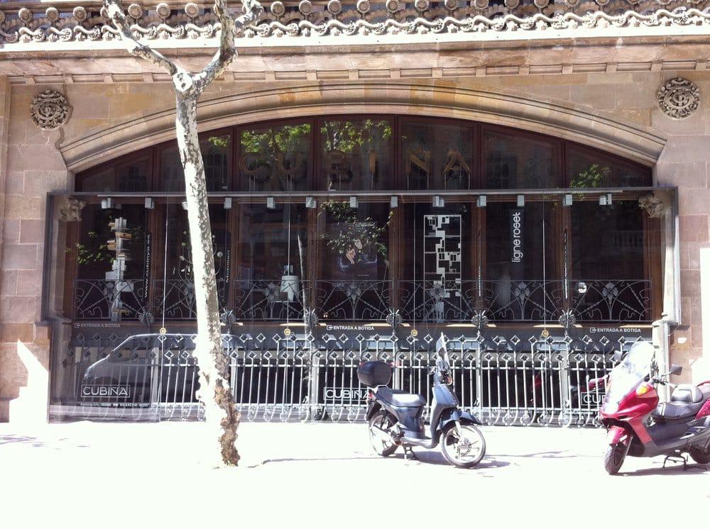 Cubi tienda de muebles carrer de mallorca 291 l 39 eixample barcelona espa a n mero de - Registro bienes muebles barcelona telefono ...