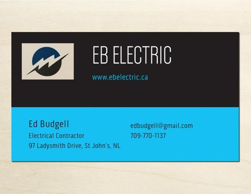 Eb electric electricians 97 ladysmith drive st johns nl photo of eb electric st johns nl canada eb electric business eb electric business card colourmoves