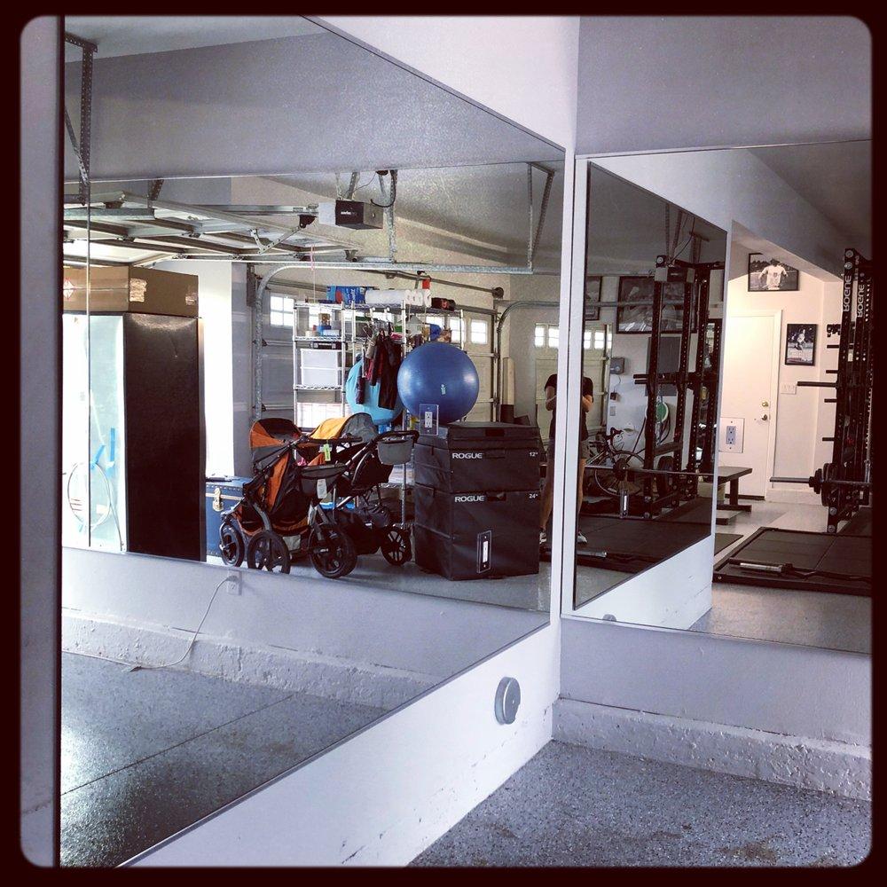 Garage gym mirrors san diego yelp