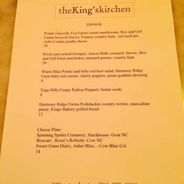 Photos for The King\'s Kitchen | Menu - Yelp
