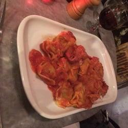 Gallo Romano - Paris, France. Spinach Ricotta tortellini