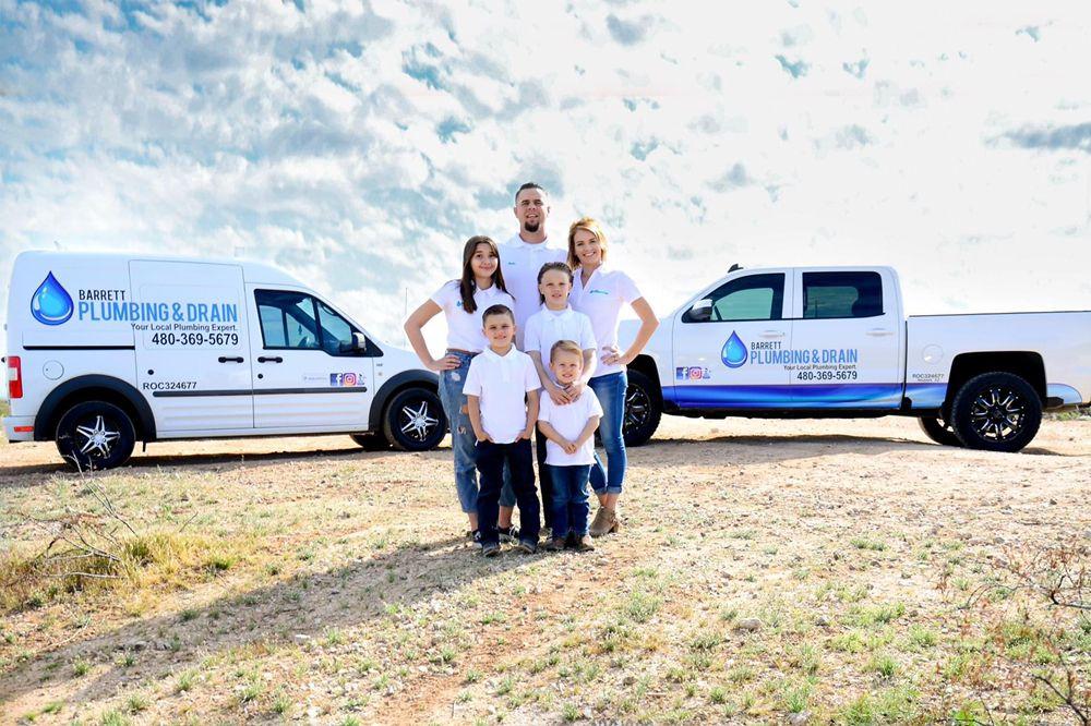 Barrett Plumbing & Drain: 17155 W Seldon Ln, Waddell, AZ