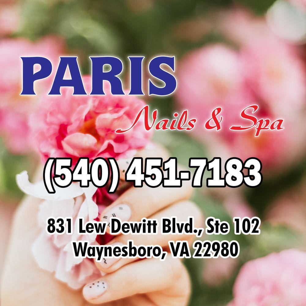 Paris Nails & Spa: 831 Lew Dewitt Blvd, Waynesboro, VA