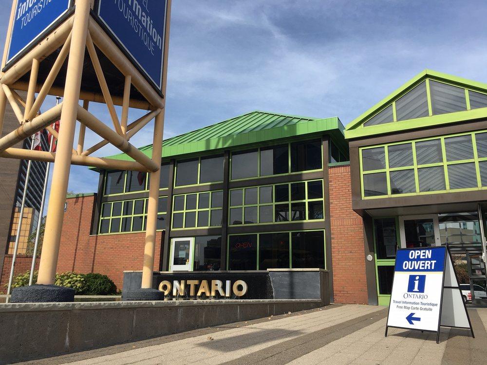 Ontario Travel Information Centre: 110 Park Street E, Windsor, ON