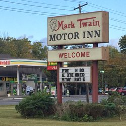 Photo of Mark Twain Motor Inn - Elmira, NY, United States. Hometown of