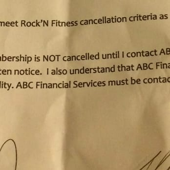 how to cancel wynn fitness membership