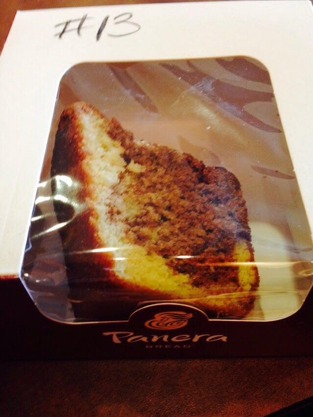 Panera Coffee Cake Review