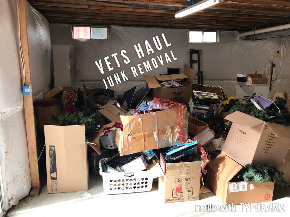 Vets Haul Junk Removal: 43 Larkwood Ct, Stafford, VA