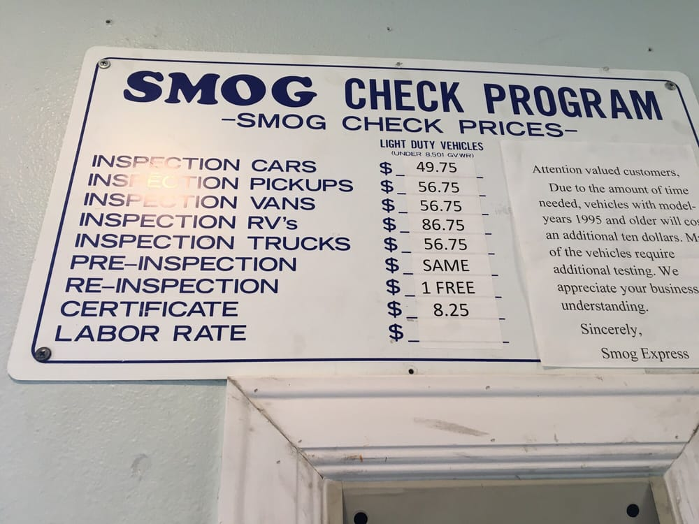 Smog Express 51 Reviews Smog Check Stations 2401 16th St