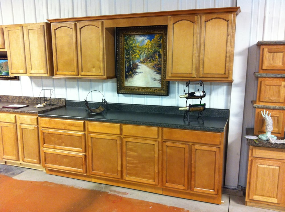 CLOSE-OUT Builder Grade Hickory Cabinets. 40% OFF! - Yelp