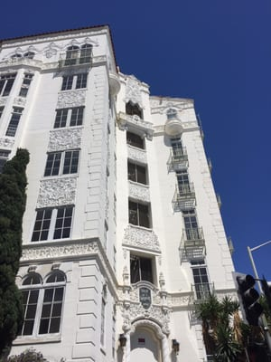 El Mirador Apartments Closed 1302 N Sweetzer Ave West Hollywood